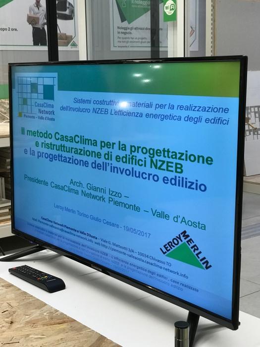 Torino Giulio Cesare: CasaClima Network Piemonte Valle D'Aosta nello Spazio del Fare