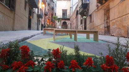 Su&Giù - Un giardino POP UP a Palermo