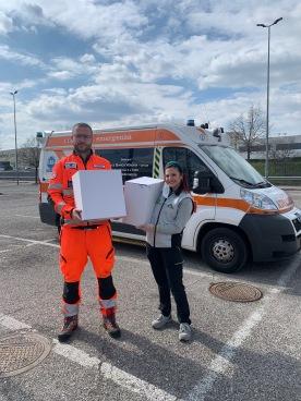 Verona_emergenzacoronavirus_donazione Croce Bianca 2
